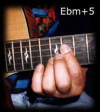 Ebm+5 chord