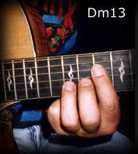 Dm13 chord