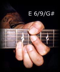 E 6/9/G# chord