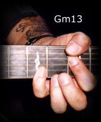 Gm13 chord