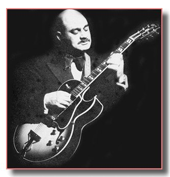 Joe Pass with Gibson ES 175D