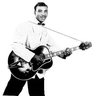 T-Bone Walker with Gibson ES 250